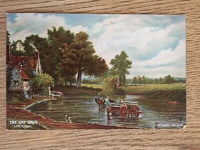 Postcard The Hay Wain Constable by Misch & Stocks