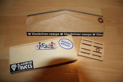 Fingerboard Blackriver 4x Ramps rampe Black River Ramps tisch Board skateboard