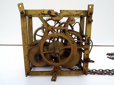Antique Black Forest Cuckoo clock movement