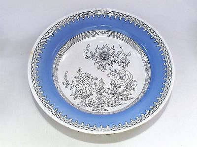 "Rare Vintage Minton Boston Japan 10 1/2"" Bowl Blue & White - ""B B"" Backstamp"