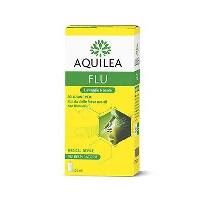 Aquilea Flu Lavaggio Nasale Dispositivo Medico 100 ml°