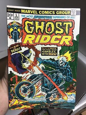 Ghost Rider #5! In VF Condition! RARE! LOOK! WOW!