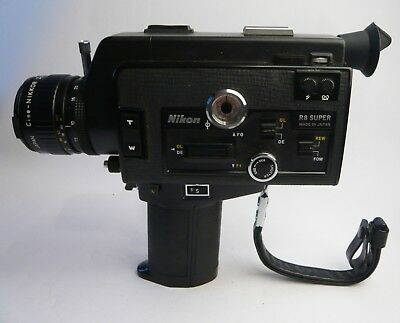 nikon r80 superzoom cine camera