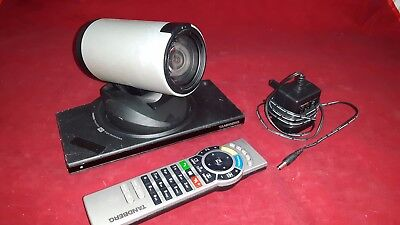 Tandberg TTC8-01 Video Conference Camera with Remote and Power Supply