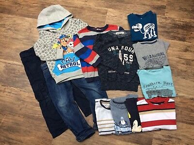 Boys 4-5 years autumn/ winter clothing bundle, M&S, blue zoo, vertbaudet, Tu etc