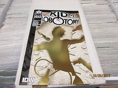 Kid Lobotomy #1 (IDW, 2017) 1 in 10 Quitely Gold Foil Variant Edition