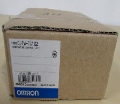 OMRON CJ1W-TC102 Temperature Control Unit 4 loops Open Collector PNP outputs