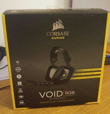 Corsair Void RGB Wireless Gaming Headset!