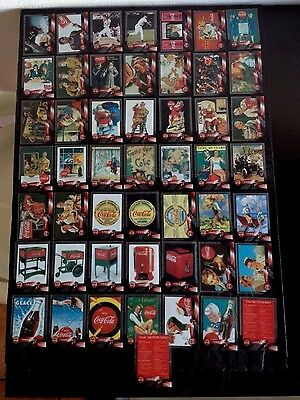 FIGURINE CARDS COCA COLA SPRINT PHONE CARDS/CELS '96 SERIE COMPLETA (50 pz.)