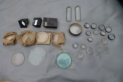 A Selection Of Various Telescope / Optical Lenses And Prisms