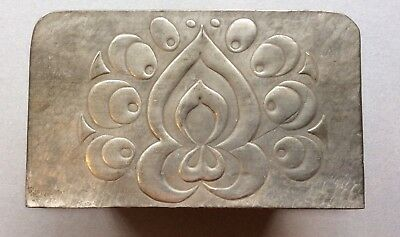 Vintage Letter Holder Arts And Crafts Pewter And Wood