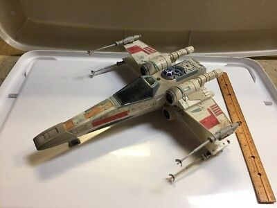 1995 POTF X-wing Fighter Star Wars Loose Vehicle