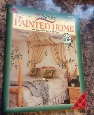 One Stroke The Painted Home Painting Book #9371