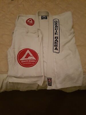 Gracie Barra BJJ Gi A1Used but in great condition....Pet/Smoke free home