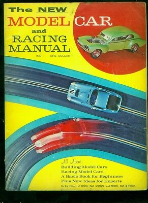 "1965 ""New Model Car & Racing Manual"" model car catalog"