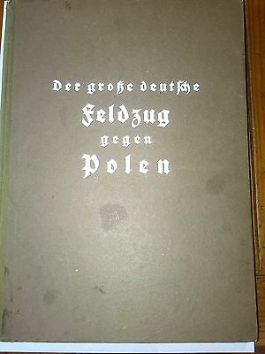 WW2 Original German Book battle for Poland Blitzkrieg Wehrmacht Luftwaffe 1939