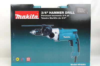 New Makita HP2050 6.6 Amp 3/4 in. Corded Hammer Drill 360 Degree