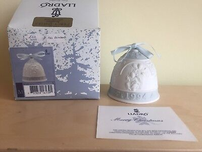 Lladro 1994 Christmas Bell Perfect With Box
