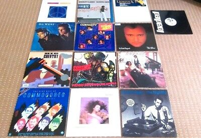 "Joblot x 13 LPs 12"" Singles -New Wave 1980s Funk Jazz Pop Electronic dance rare"