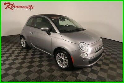 2015 Fiat 500 Pop FWD Manual Convertible Tow Pack Keyless Entry