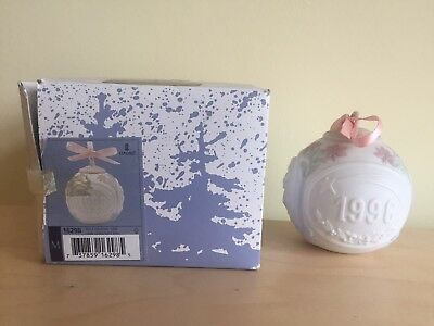 Lladro 1996 Christmas Ball 16298 Perfect With Box