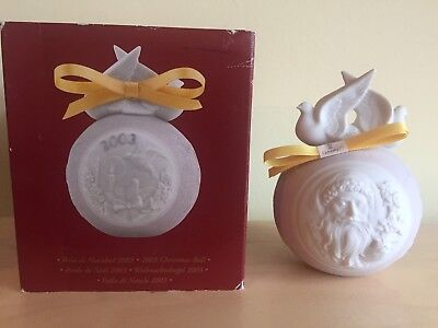 Lladro 2003 Christmas ball 16727  Retired boxed