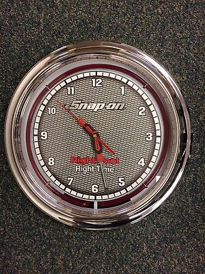 Snap-on Neon Wall Clock