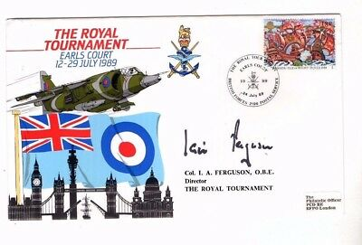 1989 The Royal Tournament Earls Court Signed Forces Fdc From Collection X13