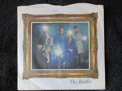 THE BEATLES PENNY LANE  - UK 1st PICTURE SLEEVE PARLOPHONE R5570 EX PLUS