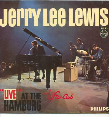 "Jerry Lee Lewis - Live At The Star Club - 12"" Vinyl Lp"