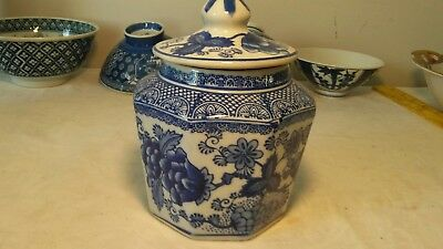 Chinese  Blue and White Porcelain Ginger Jar floral