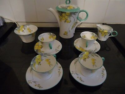 Shelly art deco tea or coffee set