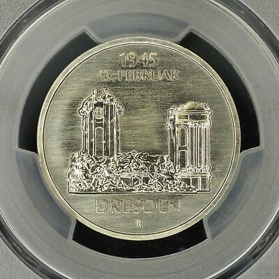 5 Mark 1985-A PCGS MS69 East Germany GDR Dresden Frauenkirche Export Quality