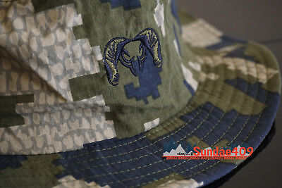 KUIU BOONIE Outdoor Hunting Sun Hat L/XL Camo UV Protection QuickDry Fishing Cap