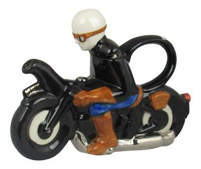 Motor Bike Collectable Novelty Teapot Carters of Suffolk UK MADE & NEW