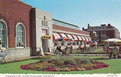 Postcard Solarium Cafe South Promenade Blackpool Lancashire by Bamforth