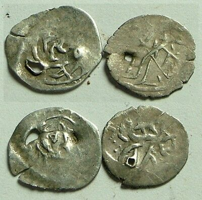 Lot 2 original authentic Islamic silver akce AKCHE coins, Ottoman Empire, Turkey