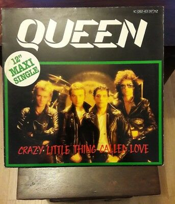 """Queen. Crazy Little Thing Called Love. Rare 12"""" Maxi German Vinyl Release, P/s"""