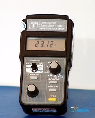 Checkmate 1000 (Altek 820) Process Calibrator - NIST Calibrated + Warranty