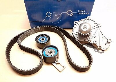 Timing Belt & Water Pump Kit For Citroen Ford Mazda Peugeot 1.6 HDi VKMC03316