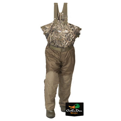 Banded Redzone Two-Tone Breathable Insulated Chest Waders Max-5 Camo Size 10 Reg