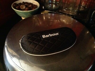 barbour padded sunglasses case