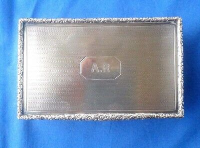 Antique Solid Silver Box- Gr. 285 --