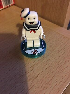 Lego Dimensions Stay Puft Disc And Lego