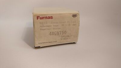 Furnas 48Gh750 Overload Relay 58A-75A Adjustable Range New In Box