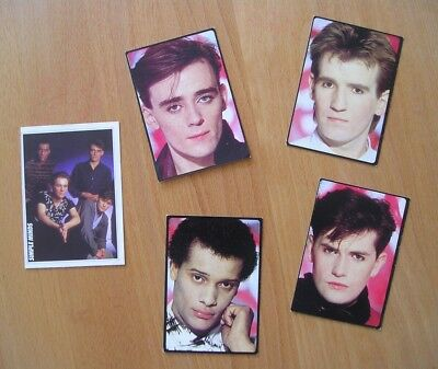 Simple Minds ** Stickers - The Smash Hits Collection / Panini **
