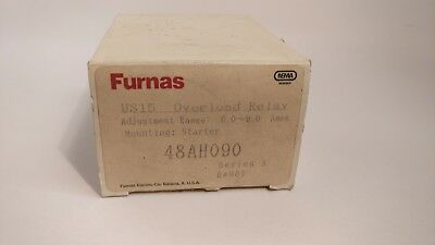 Furnas 48Ah090 Overload Relay 6A-9A Adjustable Range New In Box