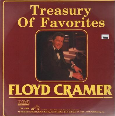 Floyd Cramer Treasury Of Favorites NEAR MINT RCA Special Vinyl LP