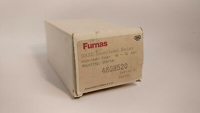 Furnas 48Gh520 Overload Relay 40A-52A Adjustable Range New In Box
