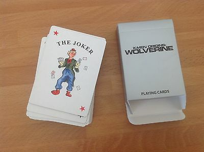 Xmen Wolverine playing cards